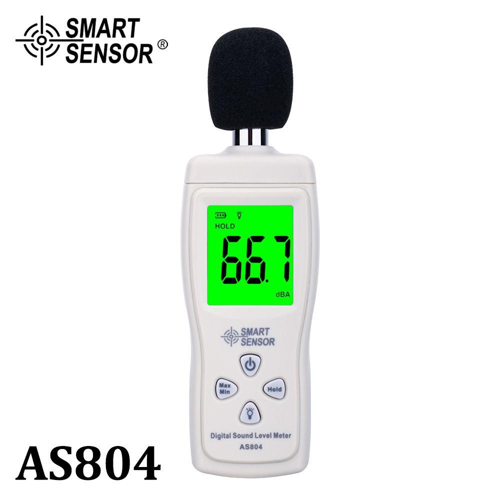 Sonomètre numérique mesure 30-130dB bruit dB décibel mètre testeurs de surveillance métro outil de Diagnostic capteur intelligent AS804