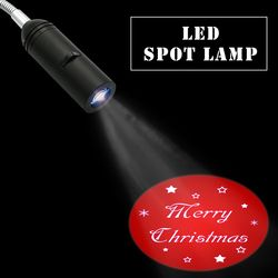 110V / 220V E27 Base Xmas Christmas Projector light Home Hotel Decoration Projection Lamp Advertising Logo spotlight lamps