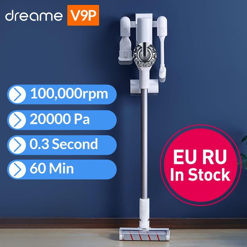 2019 Dreame V9P aspirateur à main sans fil Portable sans fil Cyclone filtre tapis collecteur de poussière tapis balayage pour xiaomi