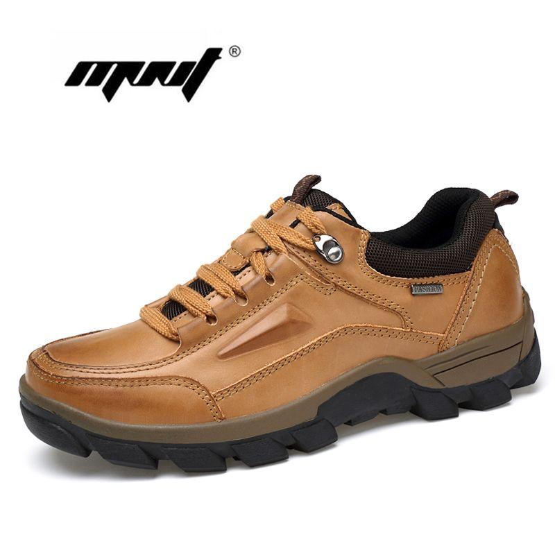 Grande taille Vintage Style chaussures hommes en cuir véritable hommes bottes, mode imperméable bottines, haute qualité hommes chaussures