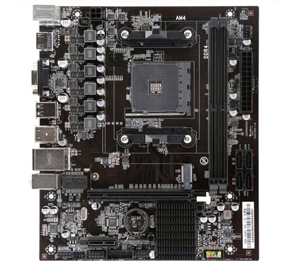 A320V Volle-solide Motherboard AM4 Buchse DDR4 16G Speicher SATA 3,0 USB 3.0 Disk array M.2 Für AMD AM4 computer Desktop Mainboard