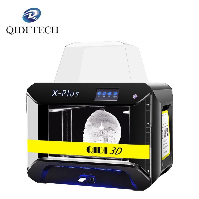 QIDI TECH 3D Drucker X-Plus Große Größe Intelligente Industrie Grade mpresora 3d WiFi Funktion Hohe Präzision Druck