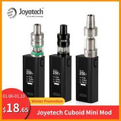 [RU] Simple Package Original Joyetech Cuboid Mini Battery 80W Built in 2400mAh Cuboid Mini VT/TC Mode Vape Mod E-Cigarette