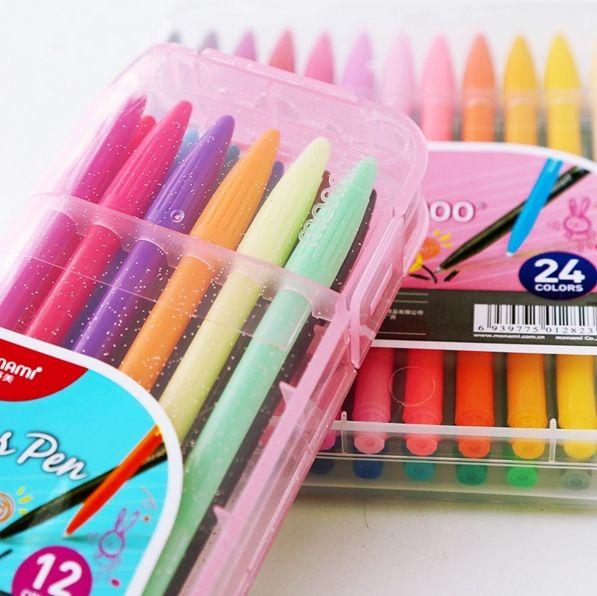 MONAMI stylo 3000 couleurs Gel stylo ensemble bricolage dessin animé coloré eau lettrage marqueur encre stylo Graffiti croquis Art fournitures