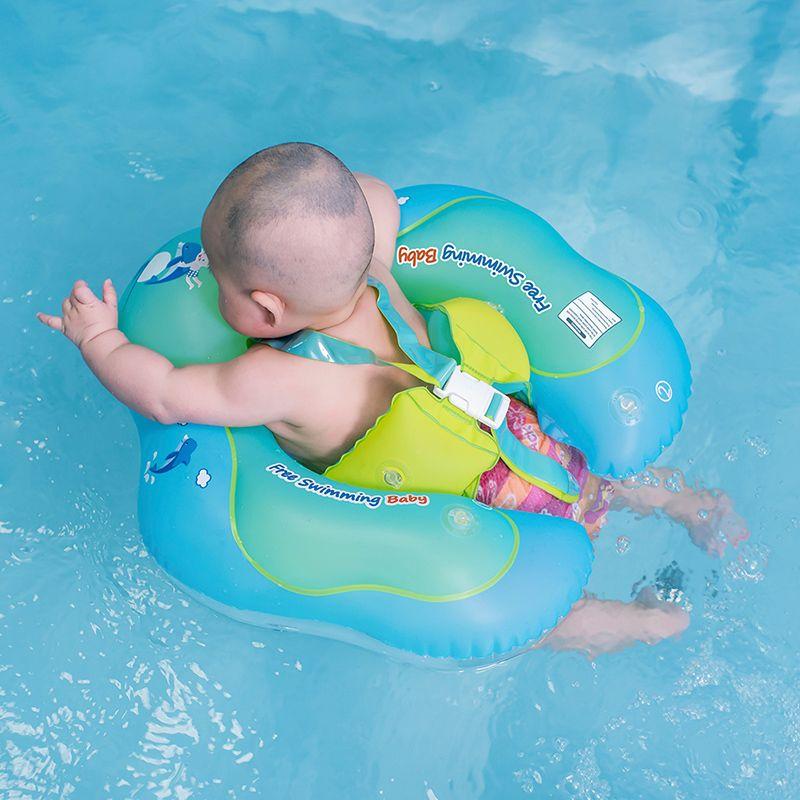 Bébé Anneau De Natation Gonflable Infantile Aisselle Flottant Enfants Nager Piscine Accessoires Cercle de Bain Gonflable Double Radeau Anneaux Jouet