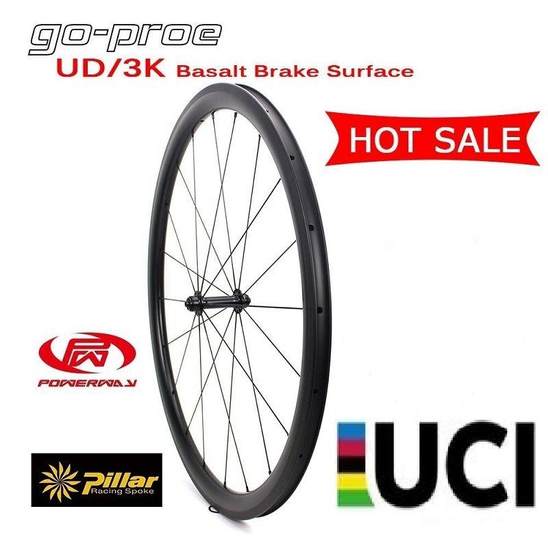 Heißer Verkauf Spot Waren 700C UD/3 K Fassade Basalt Brems Oberfläche Carbon Rad 38/50/60 /88mm Klammer Für 700c Rennrad Racing Fahrrad