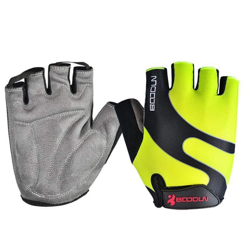 Marque été hommes femmes gants de cyclisme demi doigt Skate Gym Ftiness Airsoft Sport vtt vélo vélo gants pour enfants garçons filles