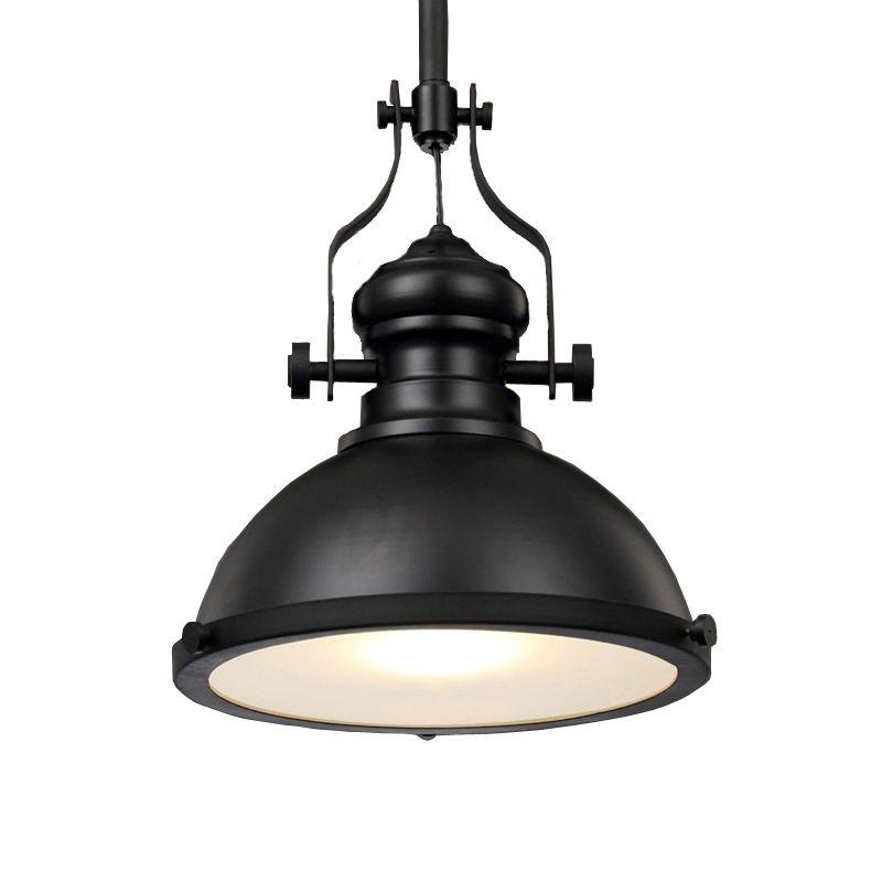 Vintage Loft salle à manger café Restaurant bar cave rétro fer pendentif lampe industrie mineur en toute sécurité lumière pendentif lumière phare