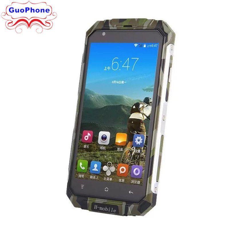 Original h-mobile V9 Plus Quad Core Android 5.0 1GB RAM 8GB ROM 3G GPS 5.0 pouces écran téléphone intelligent Rover V9 Plus téléphone