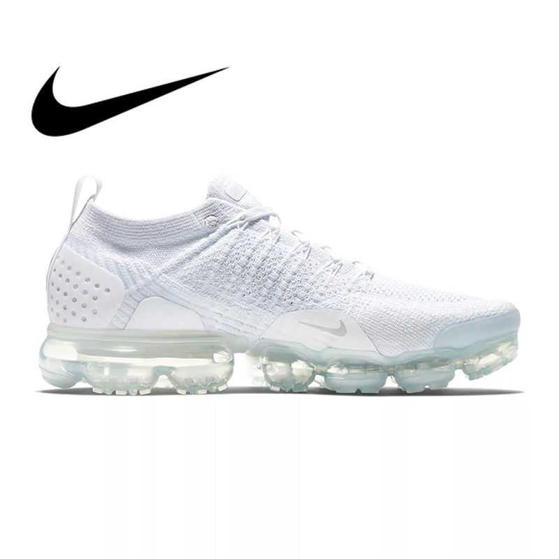 Original NIKE AIR VAPORMAX FLYKNIT 2 Running Shoes for Men Breathable Outdoor Sport Durable Jogging Athletic Sneakers 942842-001
