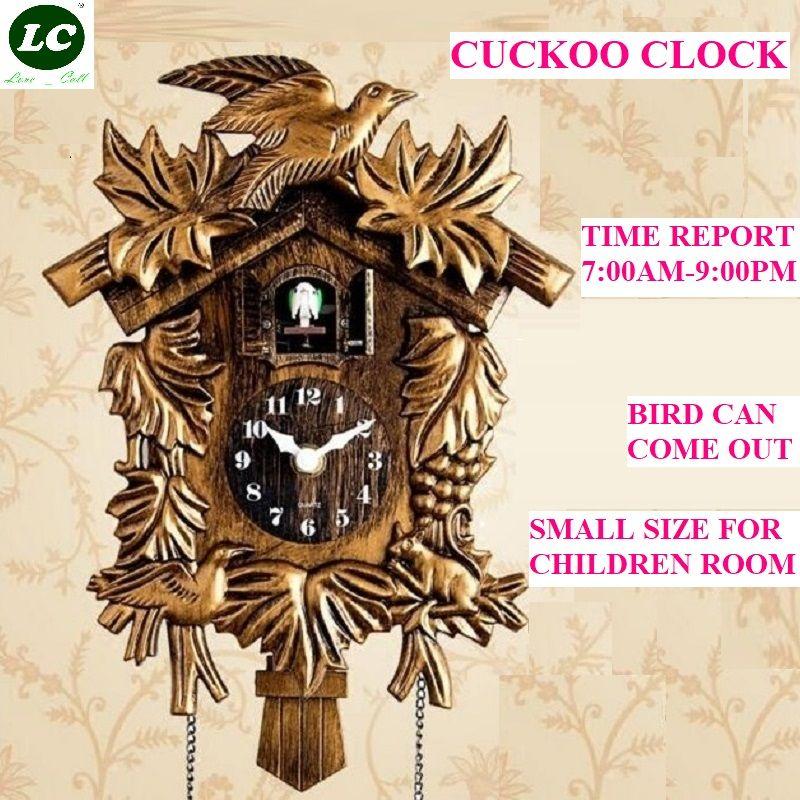 Coucou horloge salon horloge murale oiseau coucou réveil montre moderne bref enfants licorne décorations maison jour heure alarme