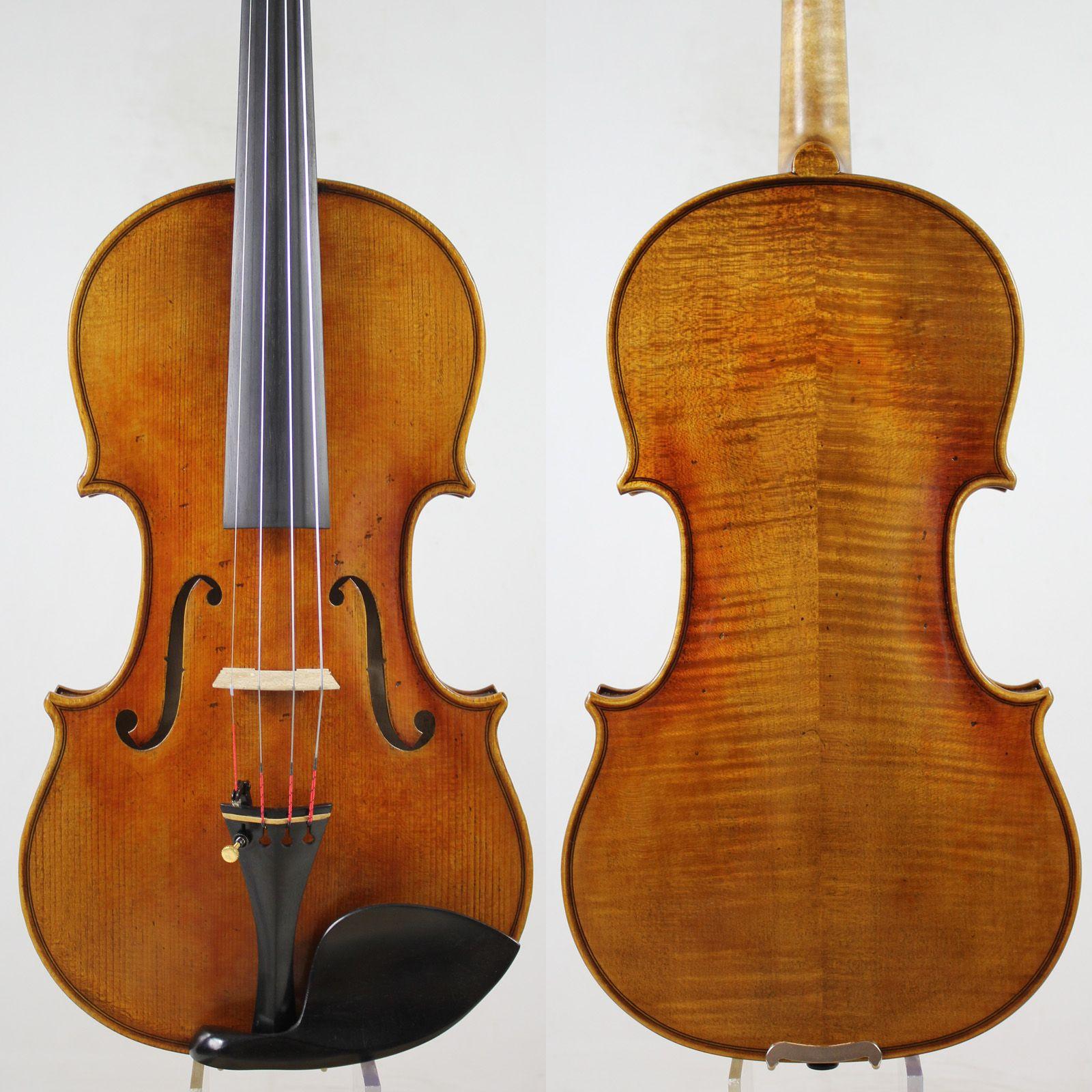 Linkshänder Stradivarius Kruse 1721 Violine violino Alle Europäischen Holz Bester ton