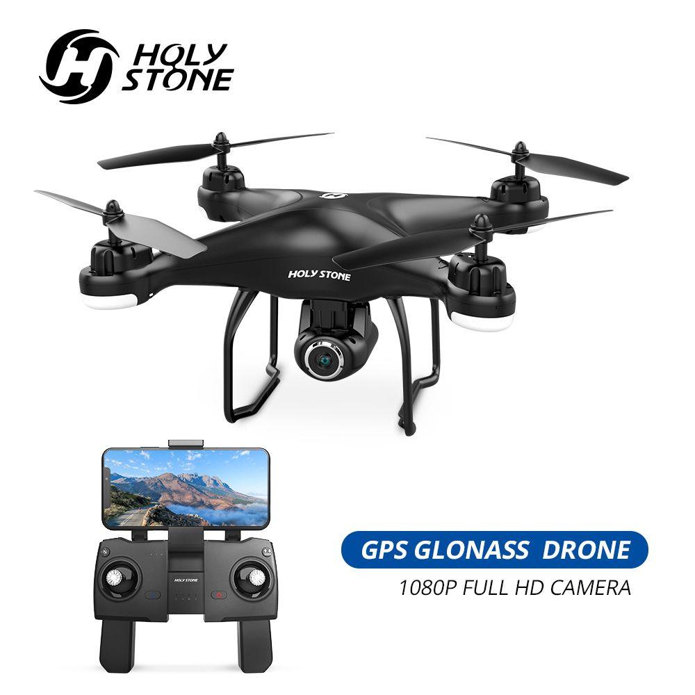 Heiligen Stein HS120D GPS Drone FPV mit 1080p HD Kamera Wifi RC Drohnen Selfie Folgen Mir Quadcopter GPS Gimbal quadrocopter 300M