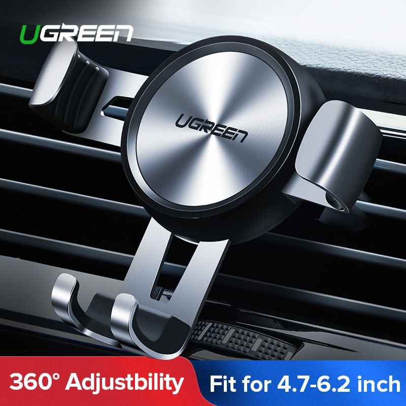 Ugreen Car Phone Holder No Magnetic Gravity Stand Mobile Support Holder in Car Phone Mount Holder Stand for Xiaomi Redmi Note 7