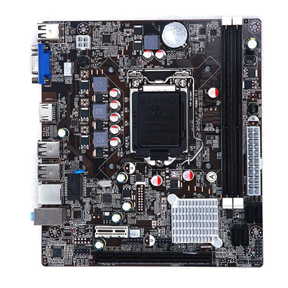 Nouvelle carte mère LGA 1155 pour Intel H61 DDR3 mémoire double canal 16GB ordinateur carte mère LGA1155 pour I3 I5 I7 Xeon Pentium