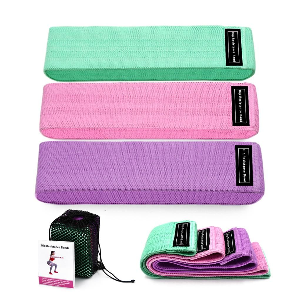 3 Piece Fitness Rubber Bands Resistance Bands Expander Rubber Bands For Fitness Elastic Band For Fitness Band Training Mini Band