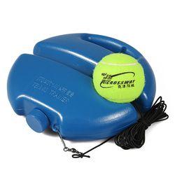 Tugas Berat Pelatihan Tenis Alat Bantu dengan Tali Elastis Bola Diri (Tugas Rebound Tenis Pelatih Mitra Perdebatan Perangkat