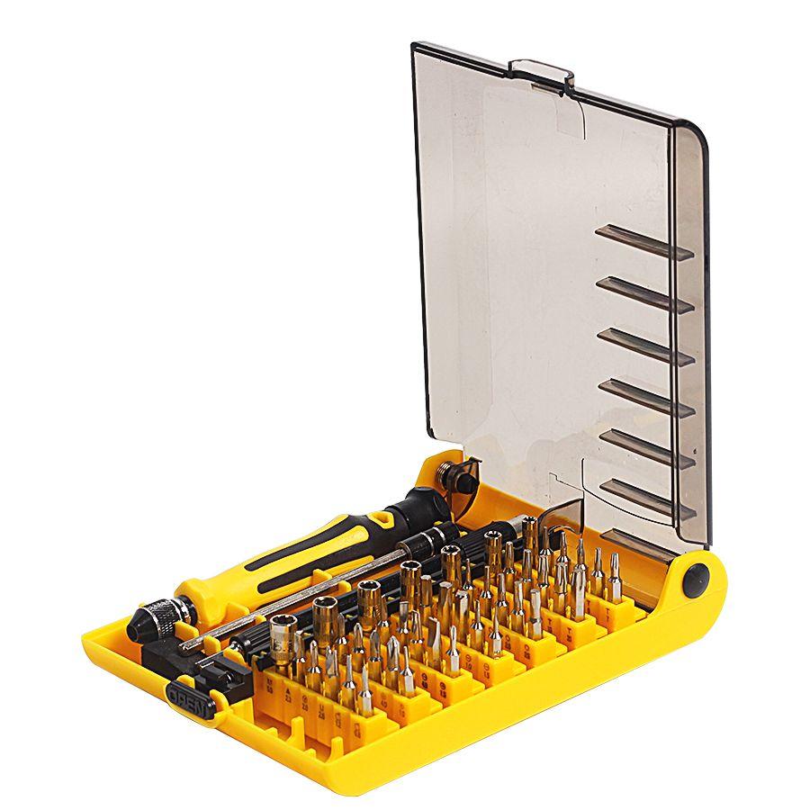 Précision 45 en 1 multi-usages Torx magnétique tournevis à main ensemble ménage main outil ensemble ouverture réparation téléphone outils