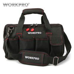 WORKPRO водонепроницаемая сумка для инструментов дорожные сумки мужские сумки через плечо сумки для инструментов большой емкости бесплатная ...