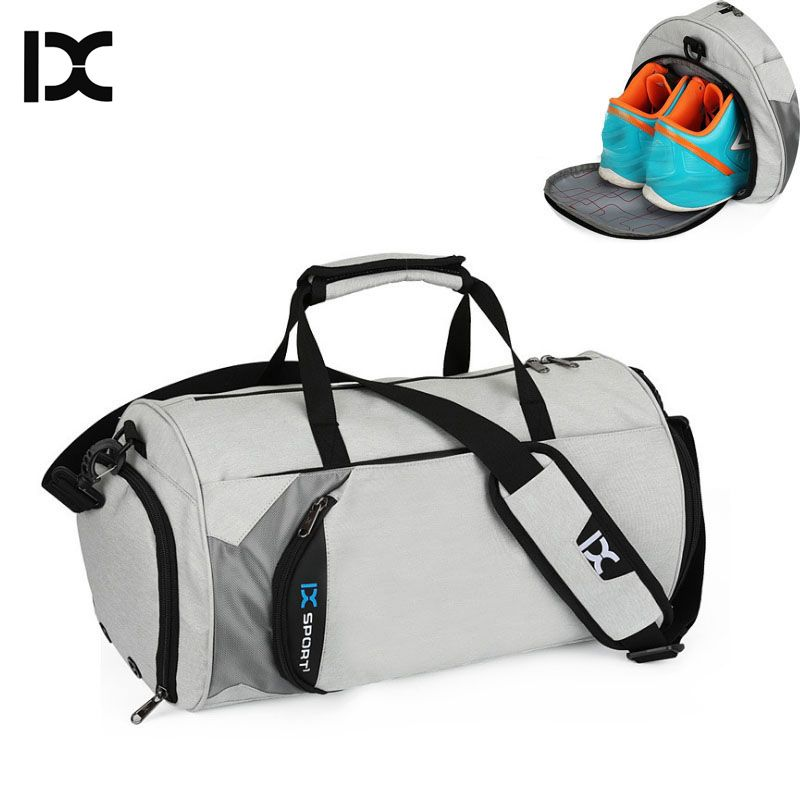 Men Gym Bags For Training Bag Tas Fitness Travel Sac De Sport Outdoor Sports Swim Women Dry Wet Gymtas Yoga Women 2019 XA103WA