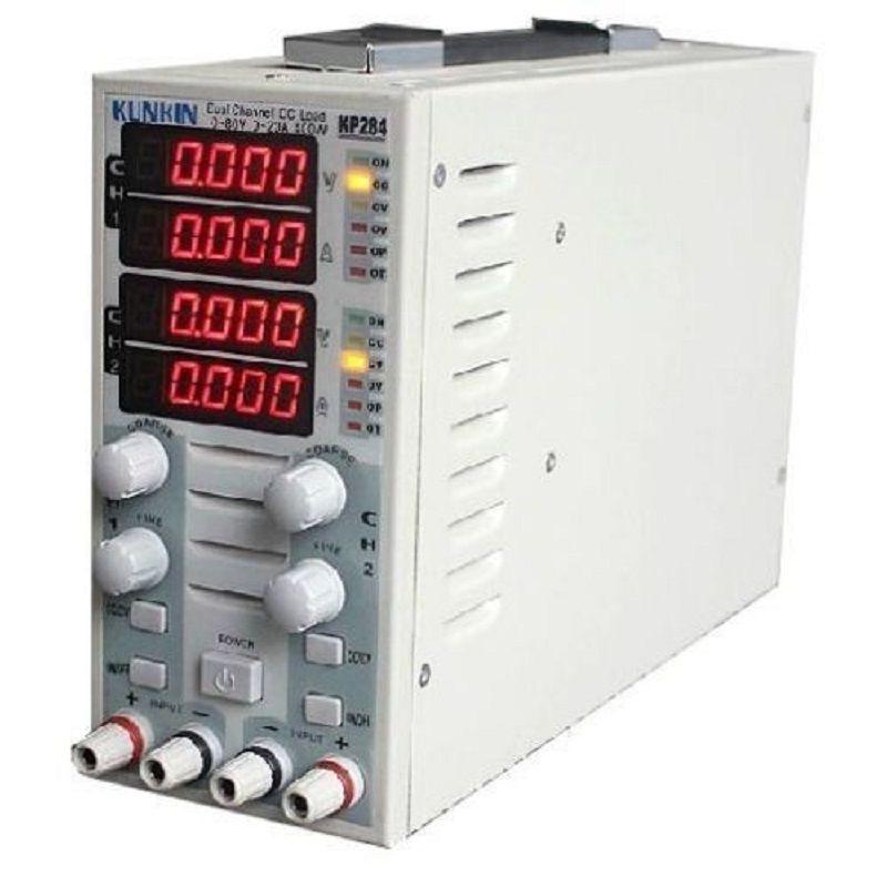 KP284 Batterie kapazität tester Last meter LED drive power Mit eine last tester Programmierbare elektronische last tester
