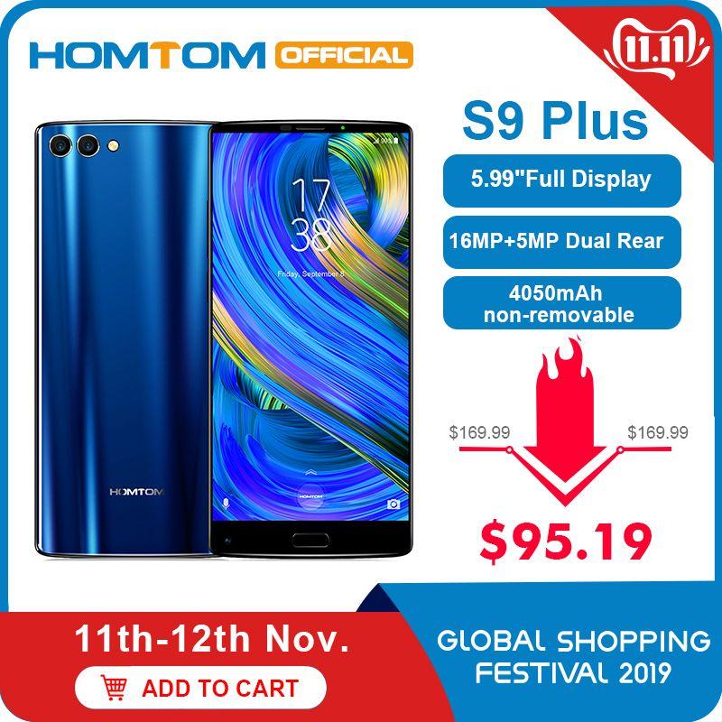 Original version HOMTOM S9 Plus 18: 9HD + 5,99
