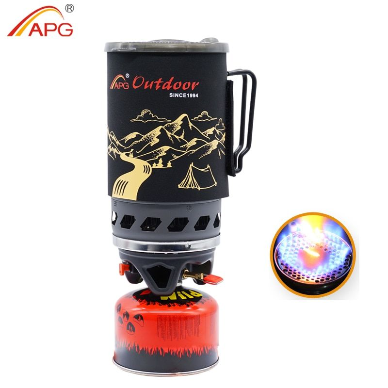 APG 1400ml camping cuisinière à gaz feux système de cuisson et brûleurs à gaz portables