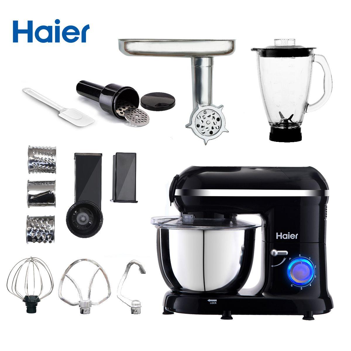 Haier küchenmaschine HSR-139 Funktionen Küchenmaschine Mixer Mixer Wurst Stuffer Obst Entsafter Fleisch Teig Ei Mischer Fleischwolf Koch maschine