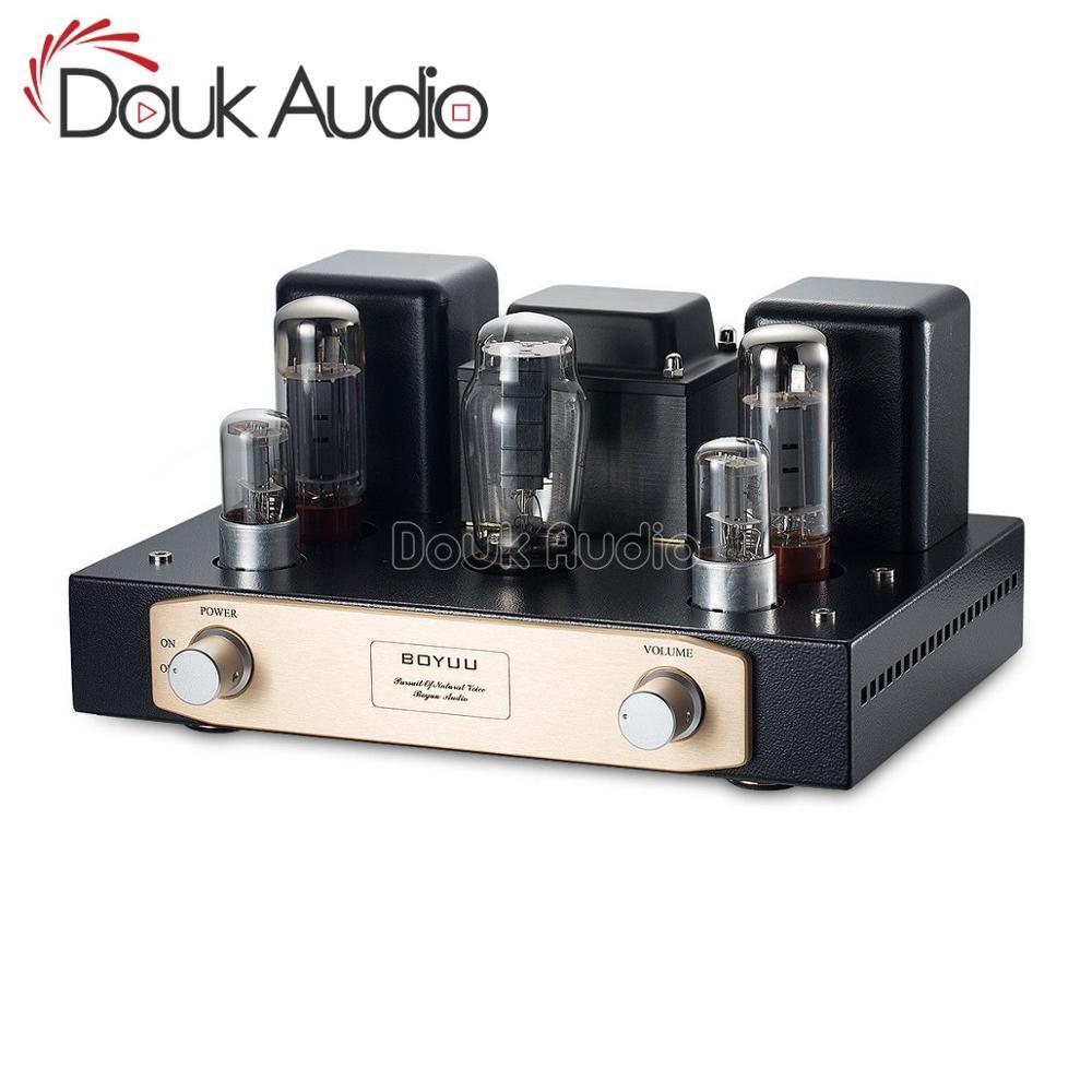 Douk audio mise à niveau EL34 Vacumm amplificateur à Tube unique classe A HiFi stéréo puissance ampli 24W niveau débutant