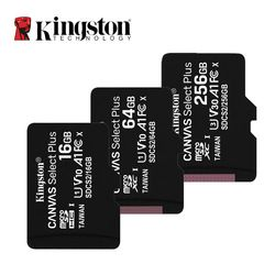 Kingston Micro SD Memory Card 16GB 32GB 64GB 128GB 256GB Class 10 C10 UHS-I Mini Kingston SD Card TF SDHC SDXC for Smartphone