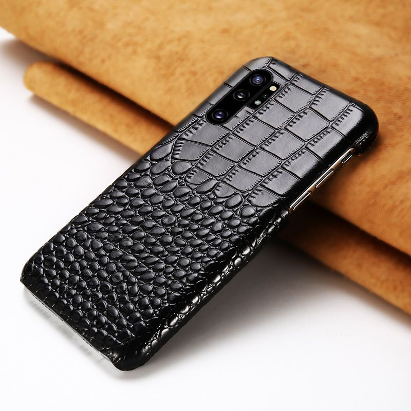 Genuine Leather mobile phone case for Samsung note 10 Note 10 Pro S10plu S7 S8 S9 Plus A70 A50 A8 A9 2018 J7 J5 protective Cover