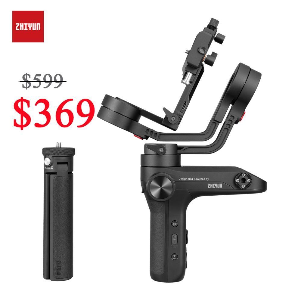 ZHIYUN Offizielle WEEBILL LABOR 3-Achse Bild Übertragung Stabilisator für Sony/Nikon Spiegellose Kamera Sensor Control Handheld Gimbal