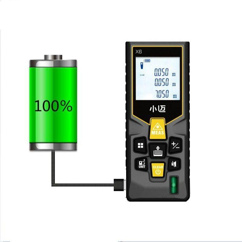 Mileseey télémètre Laser télémètre trena ruban laser télémètre construire mesure dispositif règle outil de test