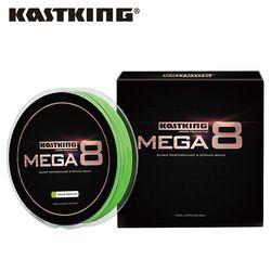 KastKing Mega8 Strong 137M 274M 457M 8 Strand Weaves PE Braided Fishing Line Multifilament 10LB 15LB 20LB 25LB 30LB 40LB 80LB
