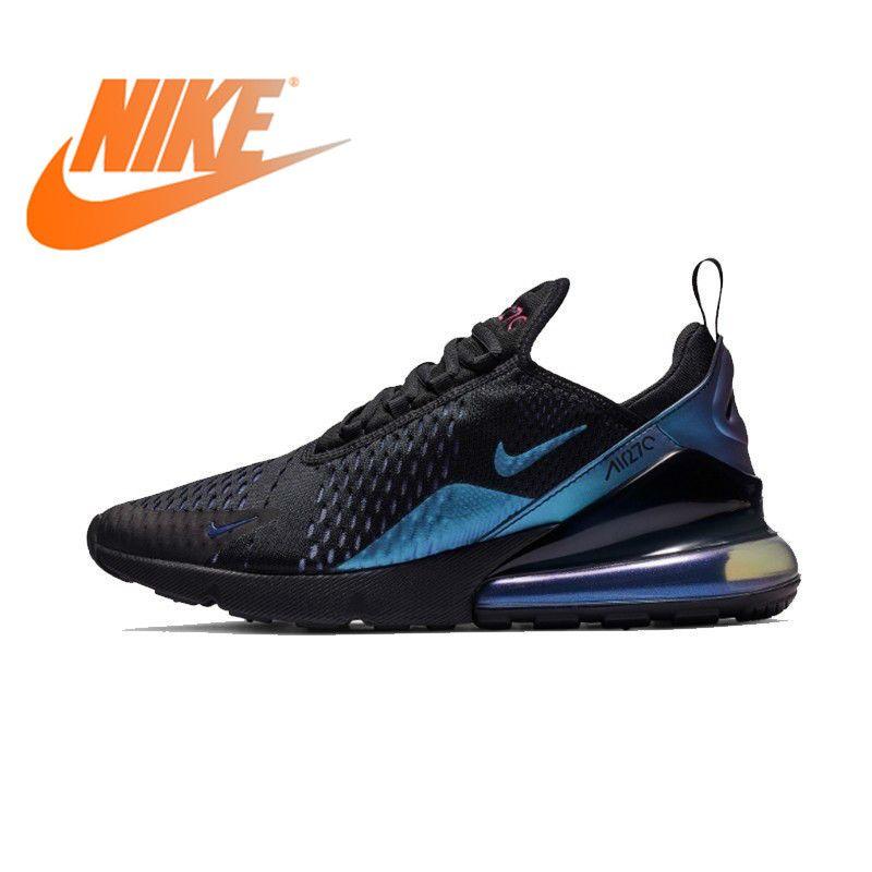 Original Athletic Nike Air Max 270 Men's Running Shoes Sneakers Outdoor Sports Lace-up Jogging Walking Designer 2019 New AH8050