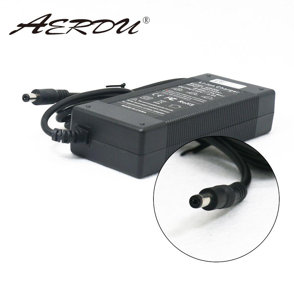 AERDU 10S 42V 2A 36V batterie Lithium-ion chargeur alimentation batteries AC 100-240V convertisseur adaptateur EU/US/AU/UK prise cc