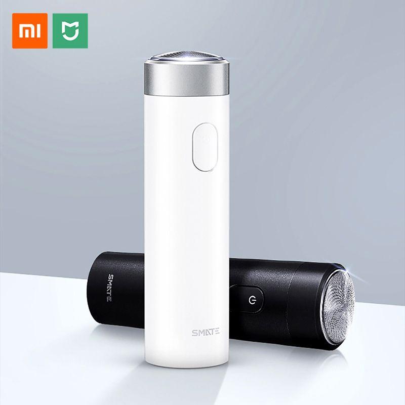 Xiaomi Smate rasoir électrique rasoir pour hommes USB Rechargeable sec humide Machine à raser barbe tondeuse IPX7 lavable une lame