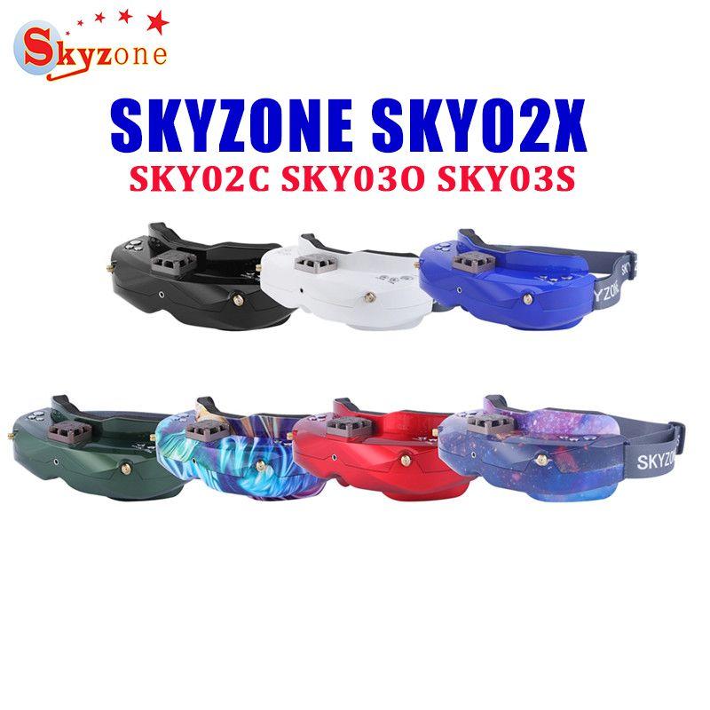 SKYZONE SKY02X/SKY02C/SKY03O/SKY03S 5,8 Ghz 48CH Vielfalt FPV Brille Für RC Racing Drone