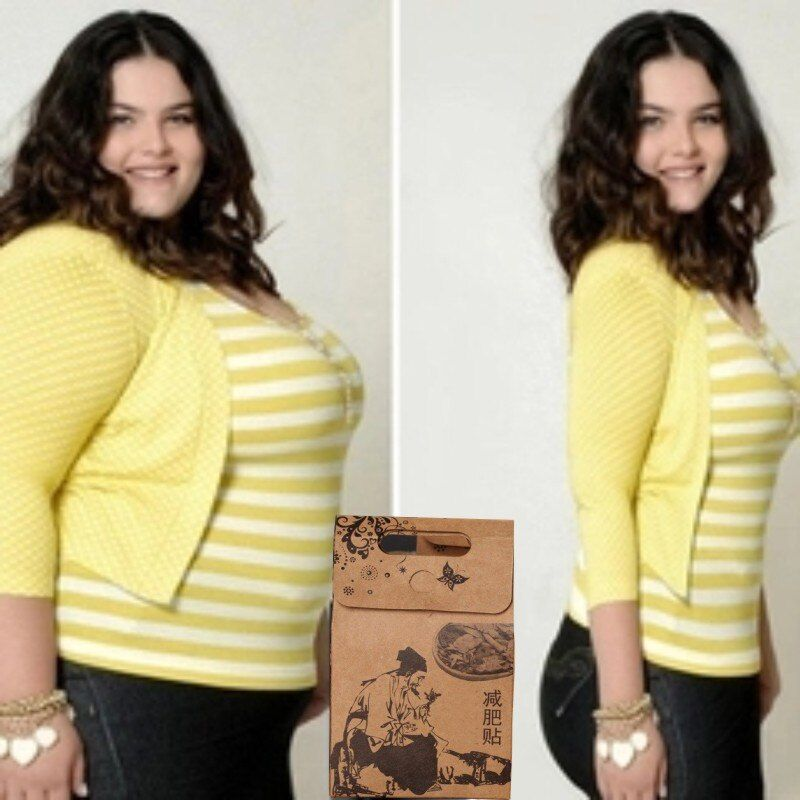 Patch mince pour perdre du poids capsule rejetée perte de poids de Cellulite chez les femmes