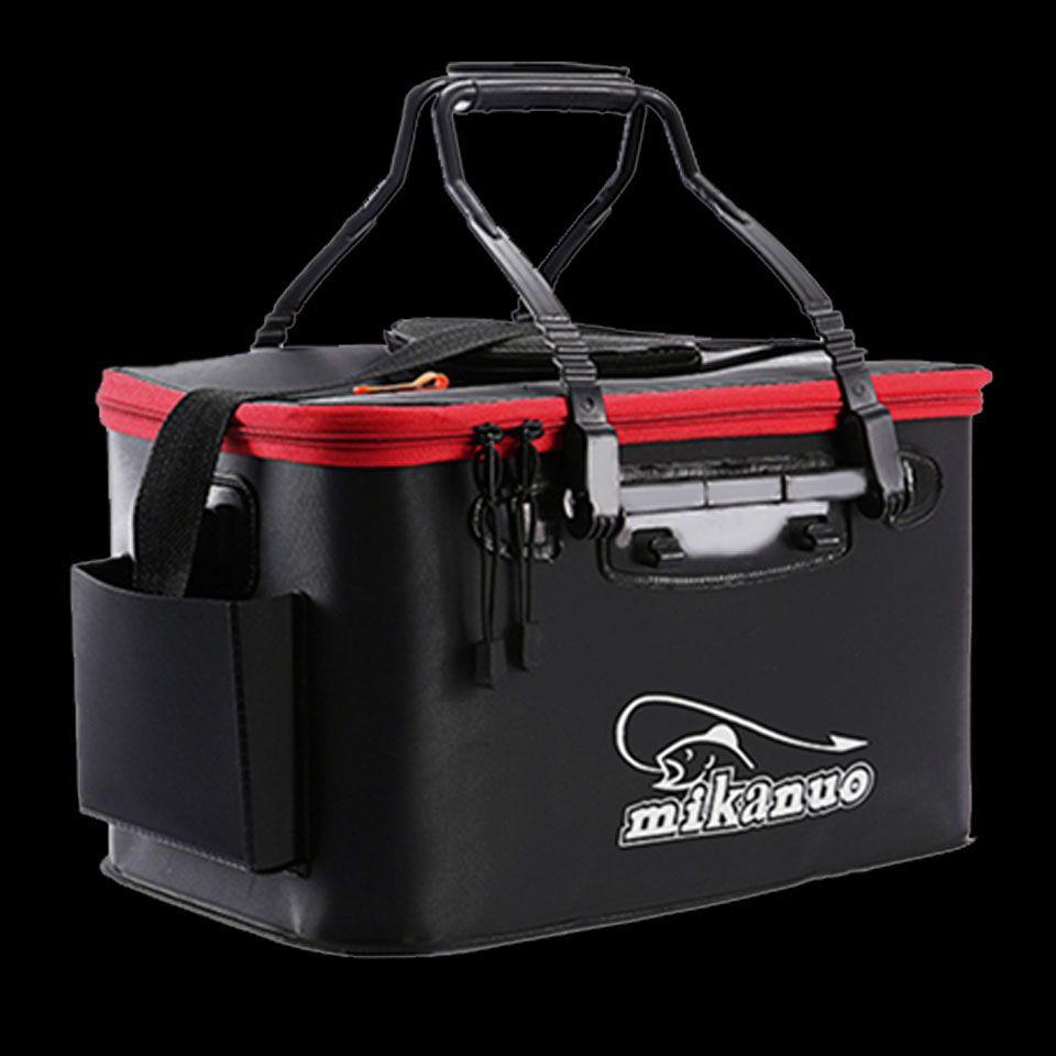 Marche poisson Portable EVA sac de pêche pliable seau de pêche en direct boîte de poisson Camping eau conteneur Pan bassin matériel sac de rangement