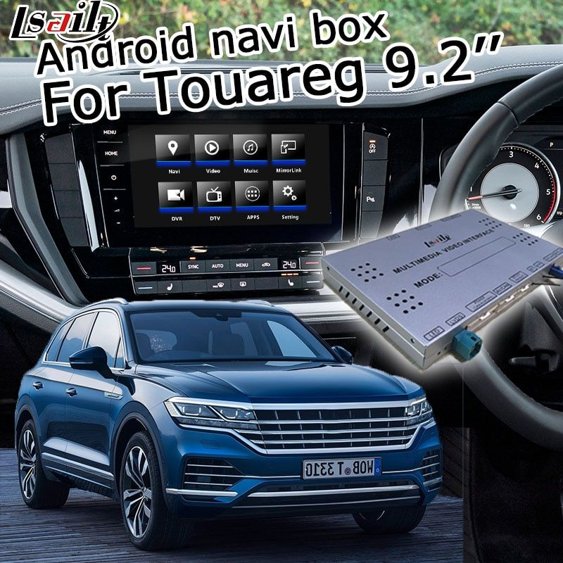 Android GPS navigation system box für Volkswagen Touare g 2019 9,2 video-interface-box mit carplay youtube waze yandex navi