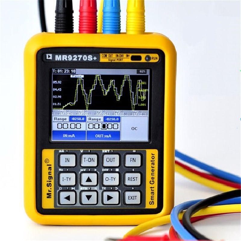 Verbesserte MR9270S + 4-20mA Signal Generator Kalibrierung Strom Spannung PT100 Thermoelement Druck Sender PID Frequenz