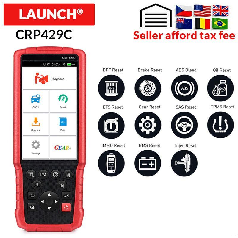 STARTEN X431 CRP429C OBD2 Code Reader unterstützung Motor/ABS/Airbag/AT + 11 Service CRP429 C Auto diagnose-tool ein jahr freies update
