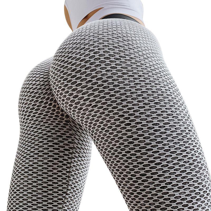 CHRLEISURE Gym Tights Women Seamless Leggings Sport Women Fitness Yoga Pants High Waist Yoga Leggings Breathable For Workout