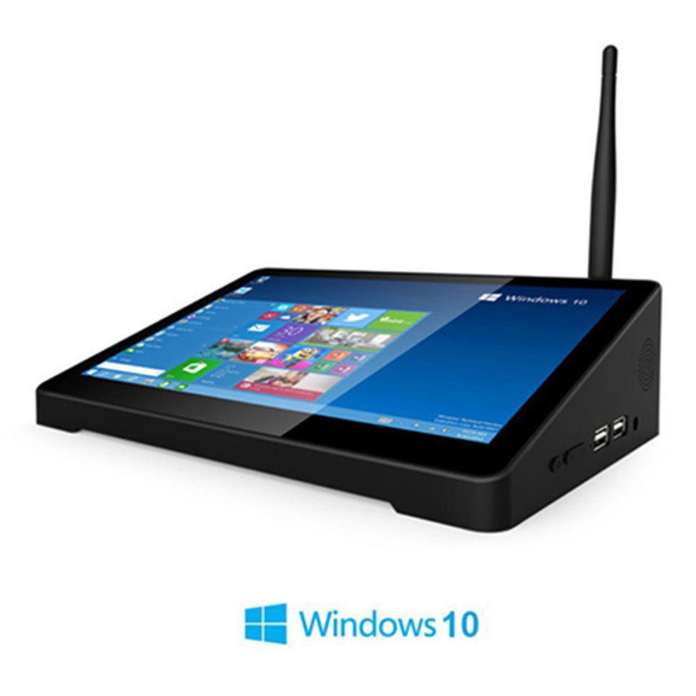 Mini boîtier de télévision intelligent Windows 10 OS Intel Z8350 8.9