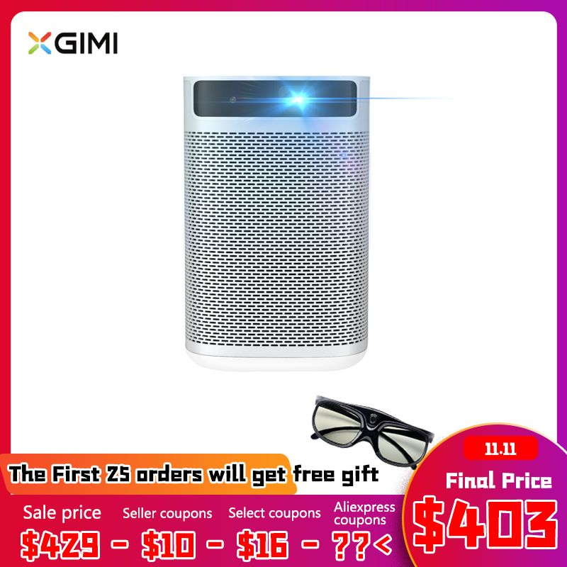 XGIMI Mogo Smart Portable Projektor Android 9.0 Mini Projektor Beamer Mit 10400mAH Batterie Full HD DLP Tragbare Proyector