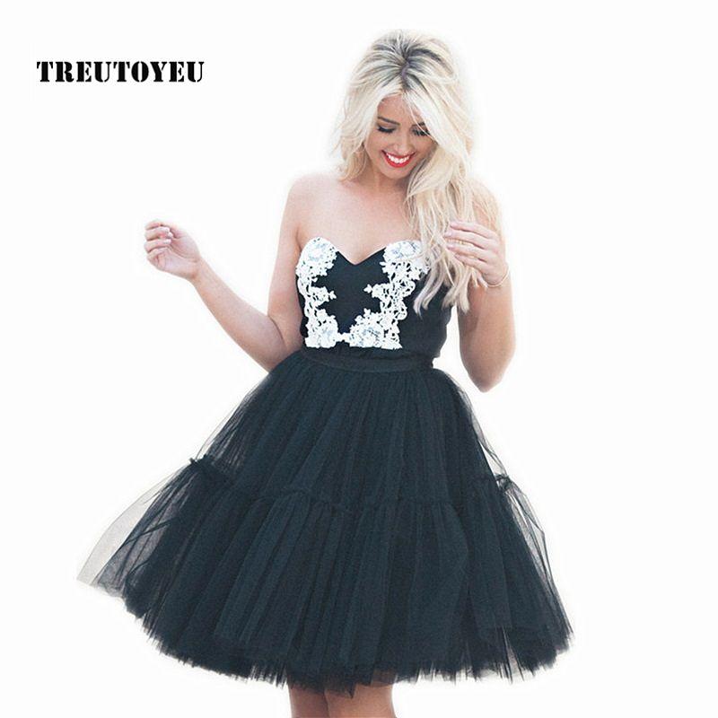 5 couches 60cm Tutu Tulle jupe Vintage Midi jupes plissées femmes Lolita jupon demoiselle d'honneur mariage faldas Mujer saias jupe