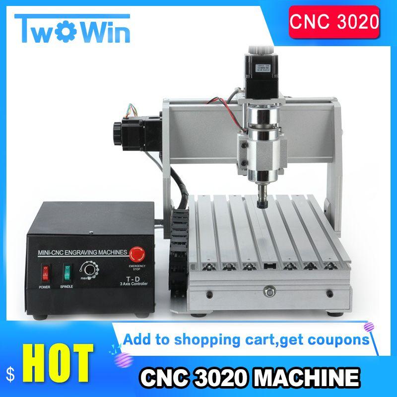CNC Router Mini Desktop 3020T Carving Maschine 3 achsen CNC Holz Carving CNC Fräsen Maschine kit Upgrade 3020T fräsen maschine