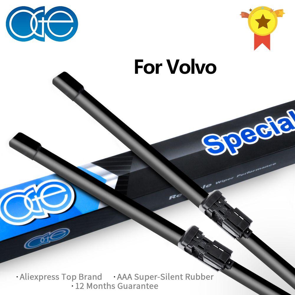 Oge 26 ''+ 20'' balai d'essuie-glace pour Volvo XC60 XC70 V50 V60 S40 C30 haute qualité en caoutchouc naturel pare-brise voiture Auto accessoires