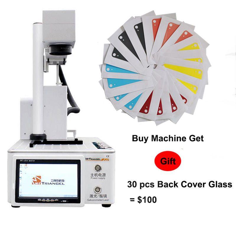 M-Triangel Laser Trennung Maschine Faser Laser LCD Reparatur Maschine Für iPhoneX XS Max 8 8 + Zurück Glas entferner Rahmen Schneiden
